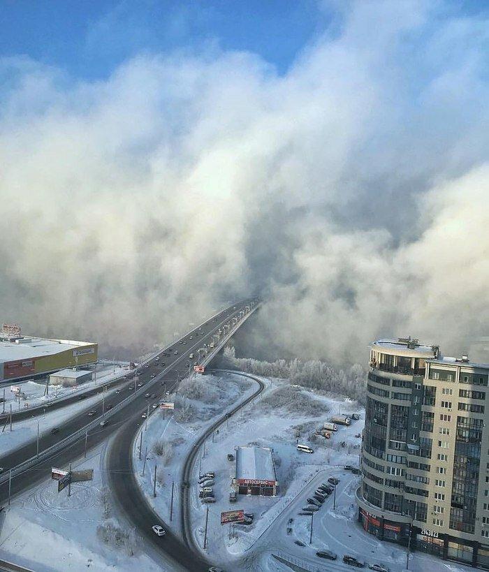 Красноярск Октябрьский мост позитив, фото, это интересно