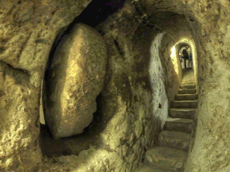 25. Подземный город Деринкую артефакты, археология, загадки, история, находки, подборка, тайны, это интересно
