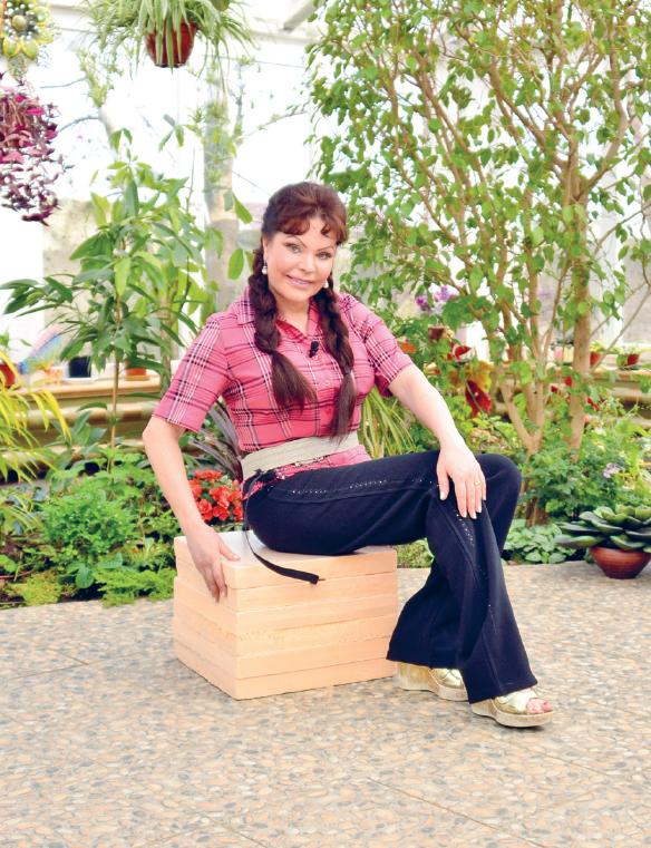 Садовый стульчик из пенопласта