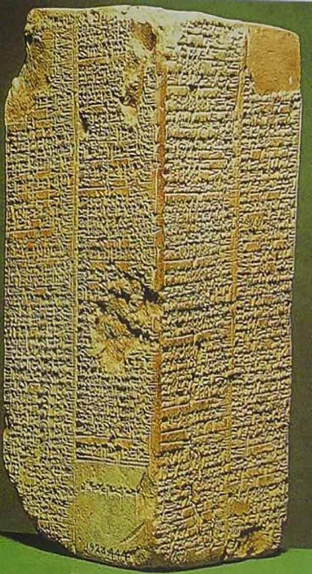 7. Список царей Шумера артефакты, археология, загадки, история, находки, подборка, тайны, это интересно