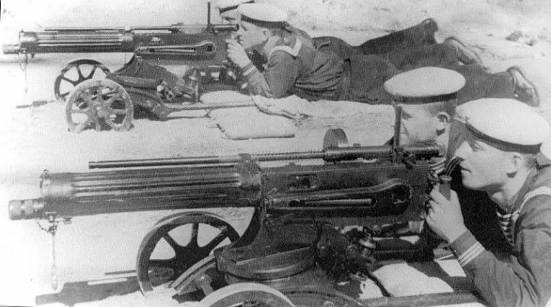 Малокалиберный пулемёт Блюма…