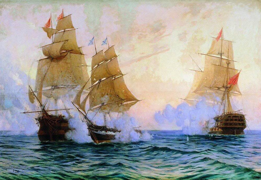 Когда размер не имеет значения: пример отваги и доблести русского флота.  1829 год
