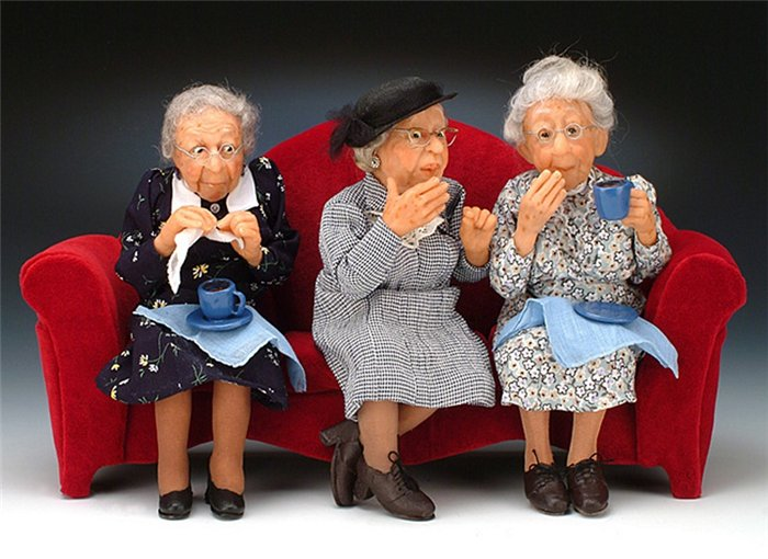 Смешные картинки старушек подружек, открыток