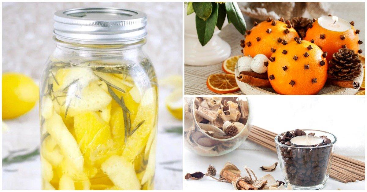 7 способов улучшить запах в доме