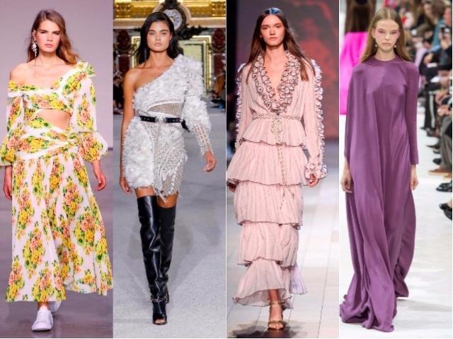 e083157372ad Модные платья Весна-Лето 2018