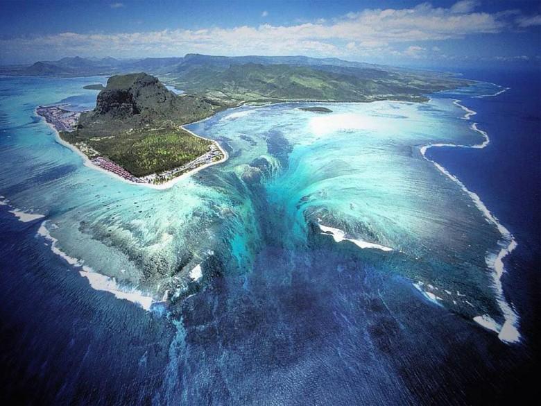 7. Подводные водопады загадки, океан, тайны