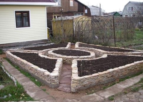 Дух Франции в элементах декоративного огорода