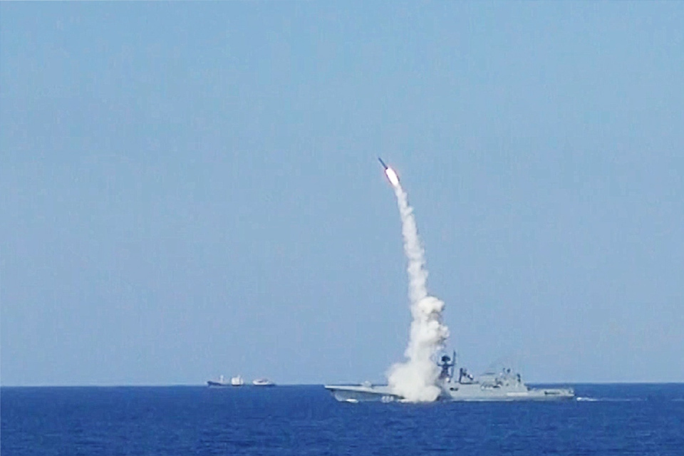 Российские моряки провели уч…