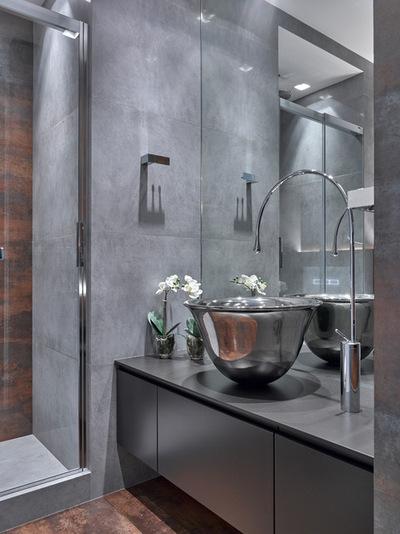 Современный Ванная комната by Бюро Александры Федоровой