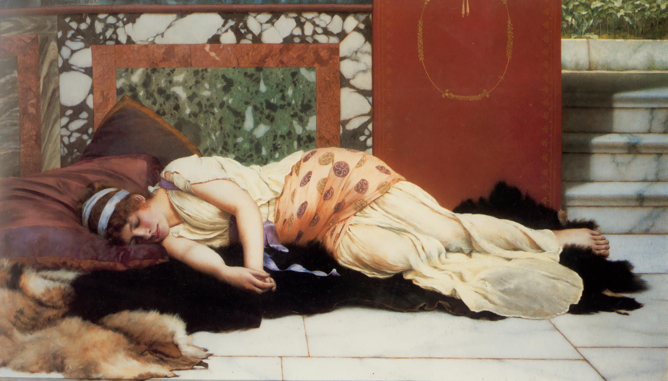 1893_Полуденный сон (частная коллекция)