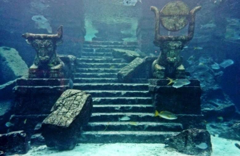 4. Кубинский подводный город загадки, океан, тайны