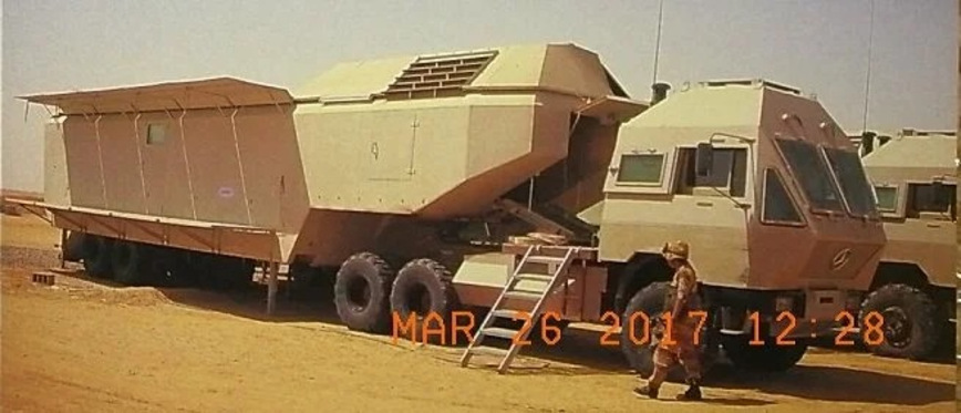 Необычный военный грузовик из Саудовской Аравии, о котором мало кто знает