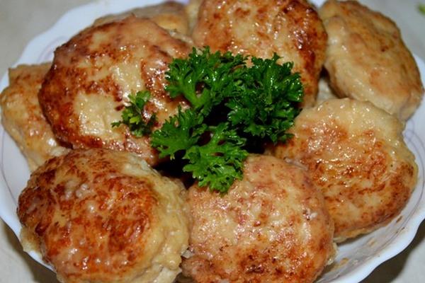 Сочные капустно-мясные котлетки