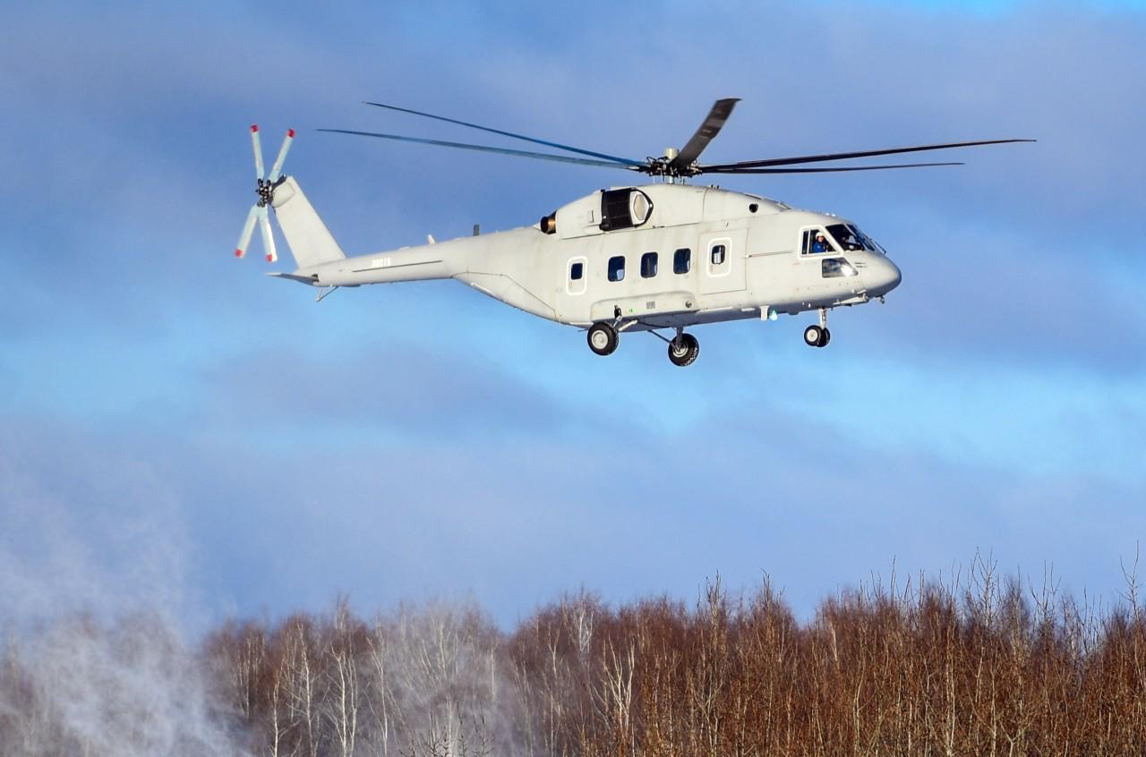 В Казани совершил первый полет вертолет Ми-38Т