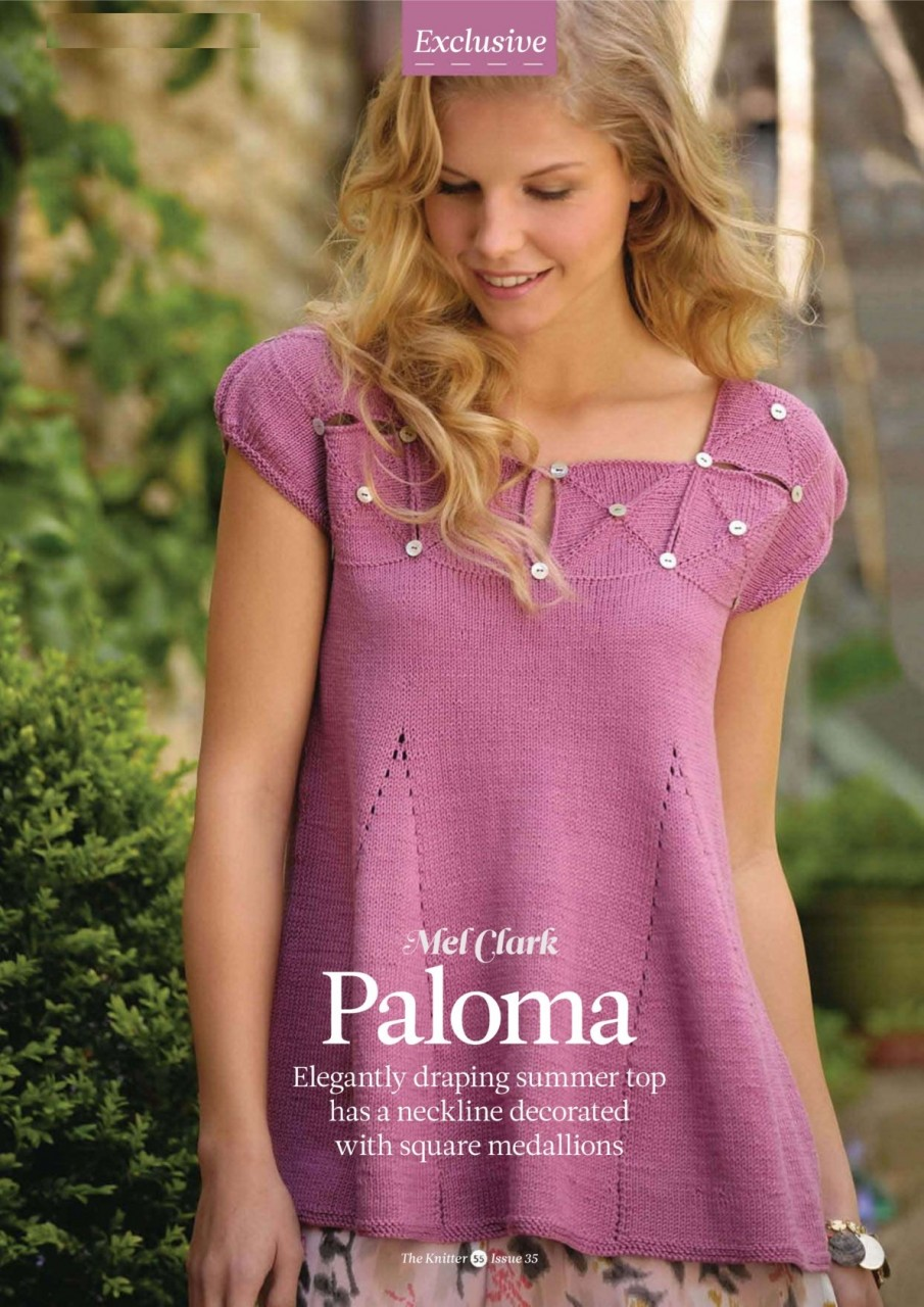 Туника спицами Paloma
