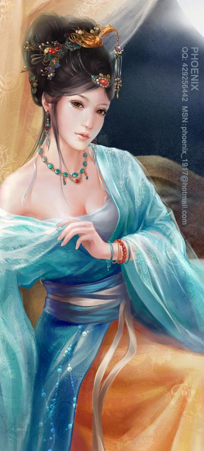 Фэнтези от Phoenix Lu. Part 1 (40 рисунков)