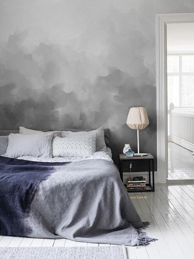 Облака в интерьере - серый интерьер. Фото 1