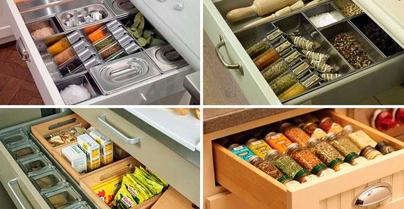 Контейнеры для хранения специй и других сыпучих ингредиентов