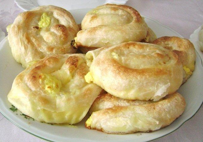 Завтрак по-турецки — Су бурек с сыром