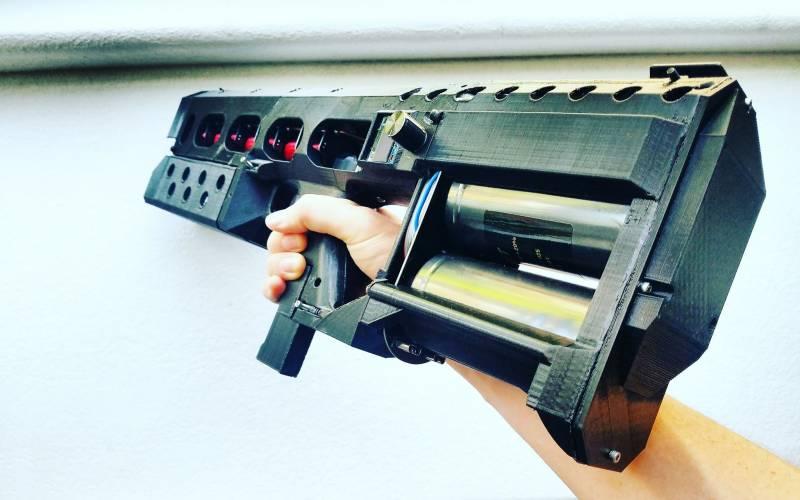 Купите рельсотрон. EMG-01A: электромагнитная винтовка на продажу