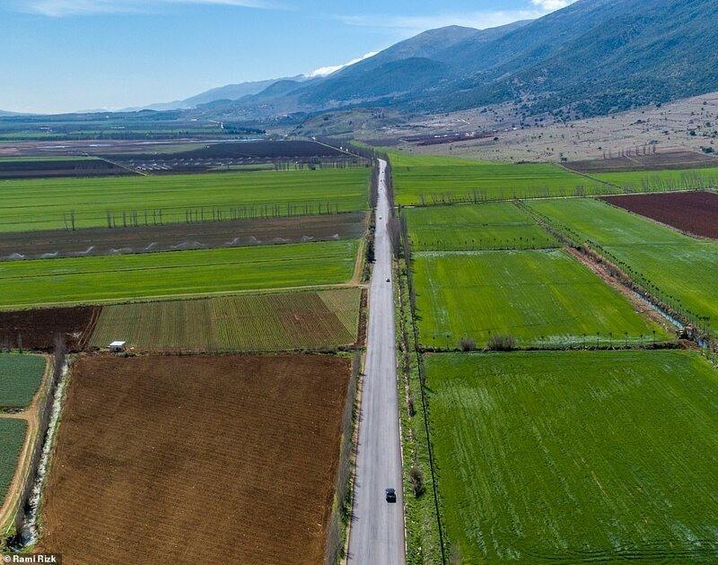 Ливан, каким вы его никогда не видели Аэрофотоснимки, аэрофото, аэрофотография, ближний восток, красивые фотографии, ливан, природа, с высоты птичьего полета