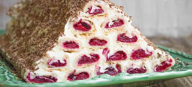 Торт «Монастырская изба» из слоеного теста