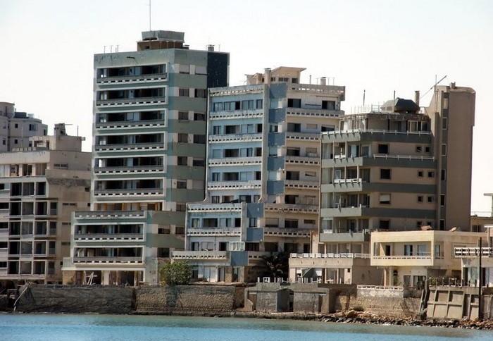 5. Вароша, Кипр города-призраки, заброшенные города, загадки, тайны, фото