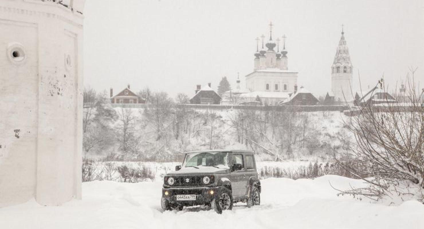 В Сети обсуждают новый Suzuki Jimny Автомобили