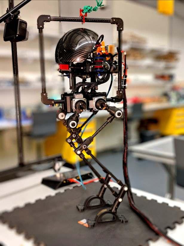Леонардо — робот, способный ходить и летать гаджеты