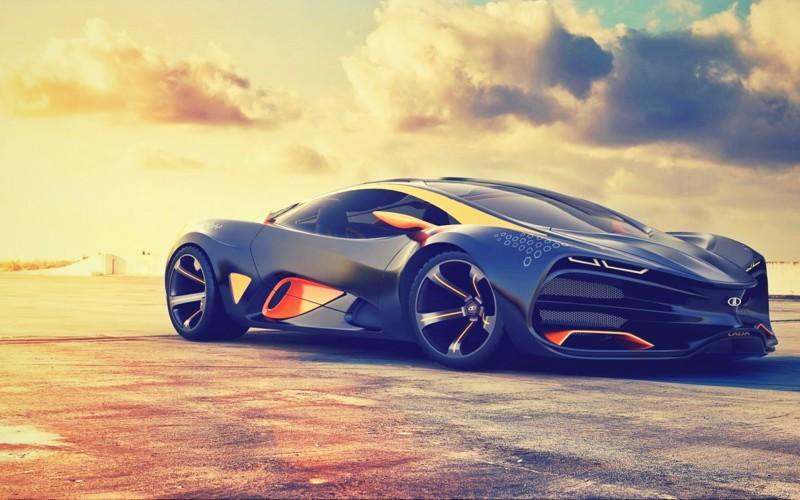 Lada Raven. Автор проекта Дмитрий Лазарев. автомобили, ваз, газ, концепты, российские автомобили, уаз