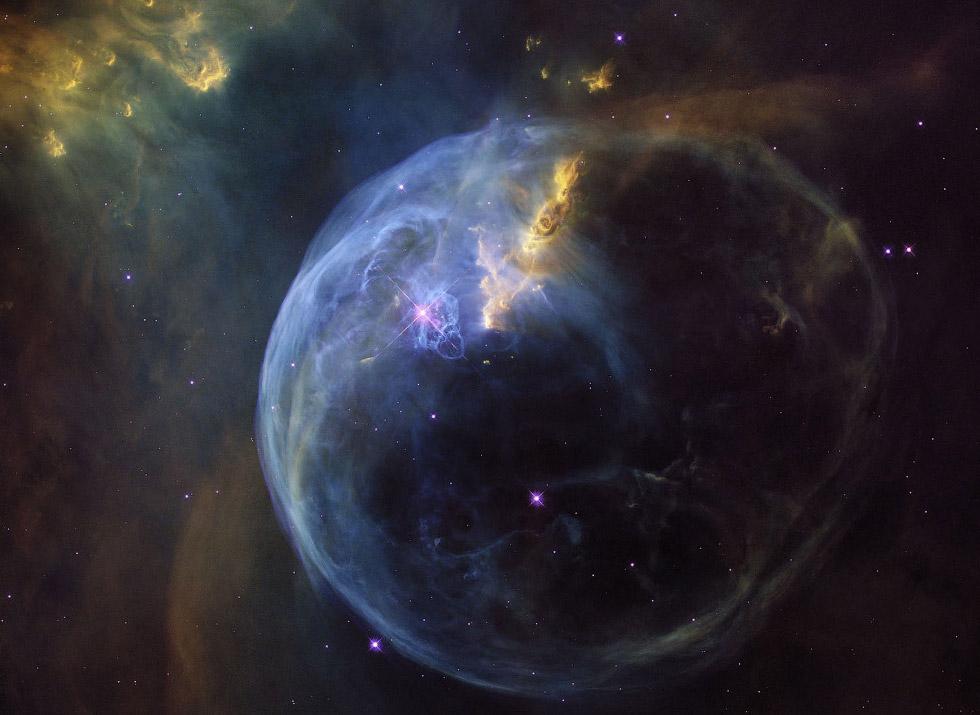 """Космическая красота: недавние снимки, полученные с телескопа """"Хаббл"""". Часть 1"""