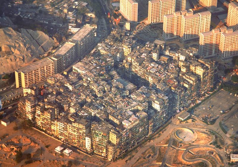 23. Заброшенный город-крепость Цзюлун, Гонконг города-призраки, заброшенные города, загадки, тайны, фото
