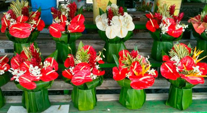 Антуриумы – цветы символизирующие любовь на День Святого Валентина, букеты
