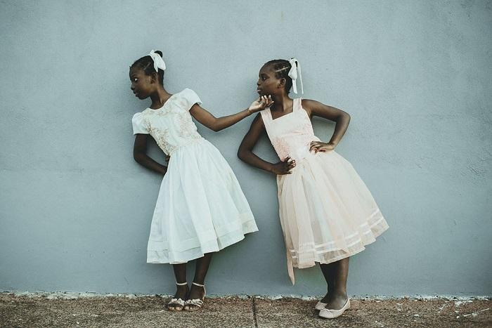 Лейда и Лаэлль, беженки из Гаити Риу-Гранди-ду-Сул, Бразилия. Автор фотографии: Тати Итат (Tати Iтат).