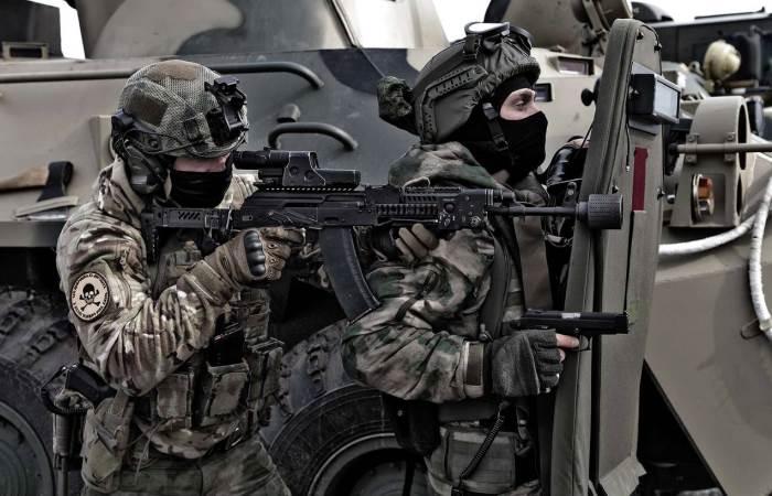 «Энергетики», которые принимают бойцы российского спецназа