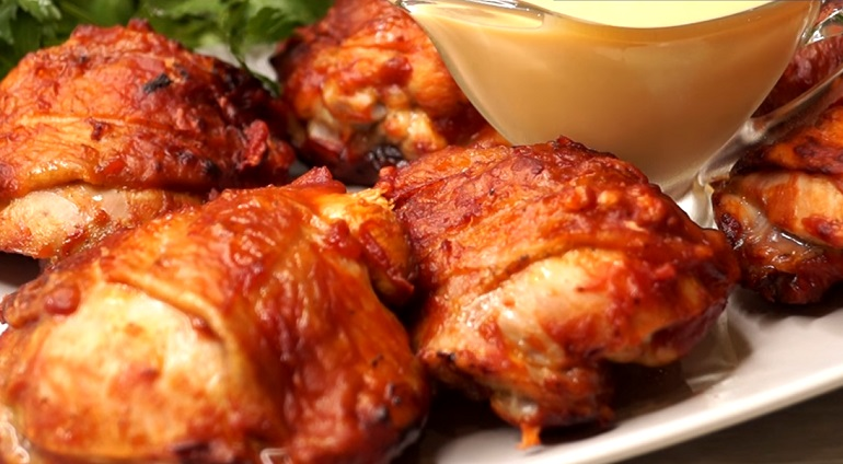 Курица в быстром маринаде и …