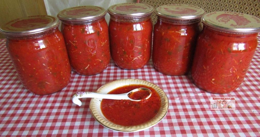 Томатный соус с болгарским п…
