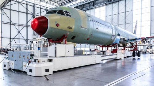Airbus запустил четвертую линию по производству A320 в Гамбурге