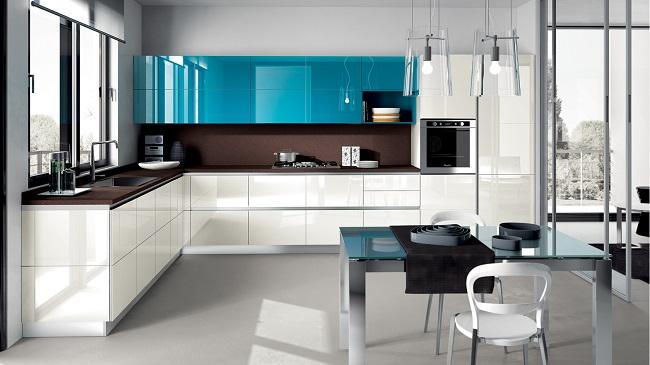 дизайн кухни в современном доме