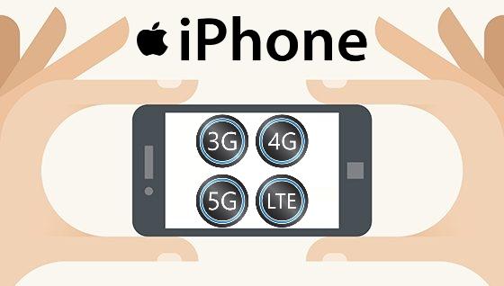 Как подключить iPhone к наиболее быстрой мобильной сети