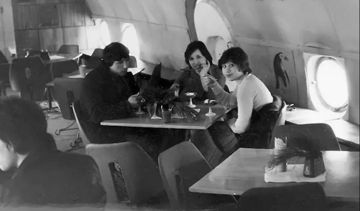 Кафе-самолеты во времена СССР