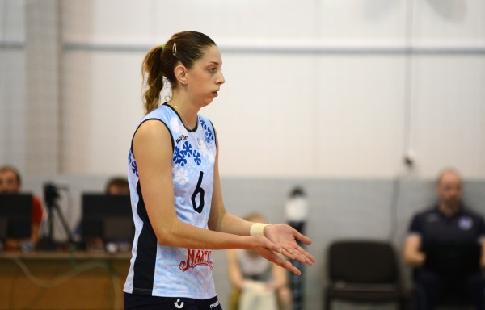 Волейболистка сборной России…