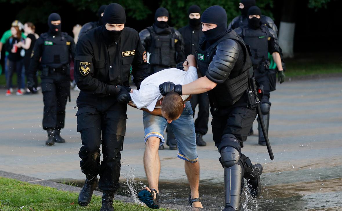 В Гомеле мужчина умер после задержания во время протестов Белоруссия,политика,протесты,Силовики