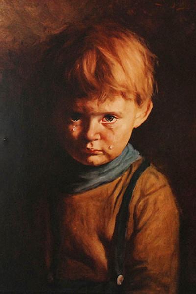 Джованни Браголин. Плачущий мальчик