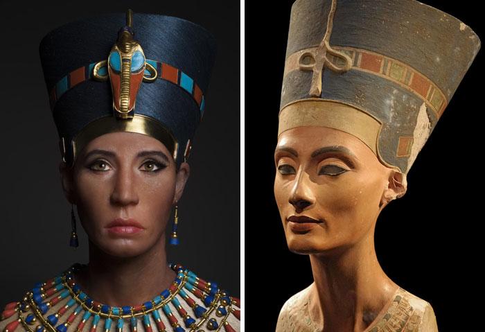 Как эти люди выглядели в жизни: ученые создали объемные лица ранее живших людей внешность,интересное,история,реконструкция,технологии