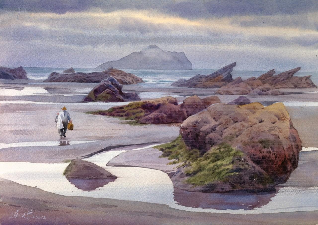 Нужен ли человеку пейзаж? Художник Hung Tung-Piaо