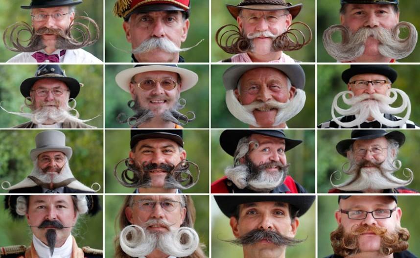 Самые необычные бороды и усы в мире