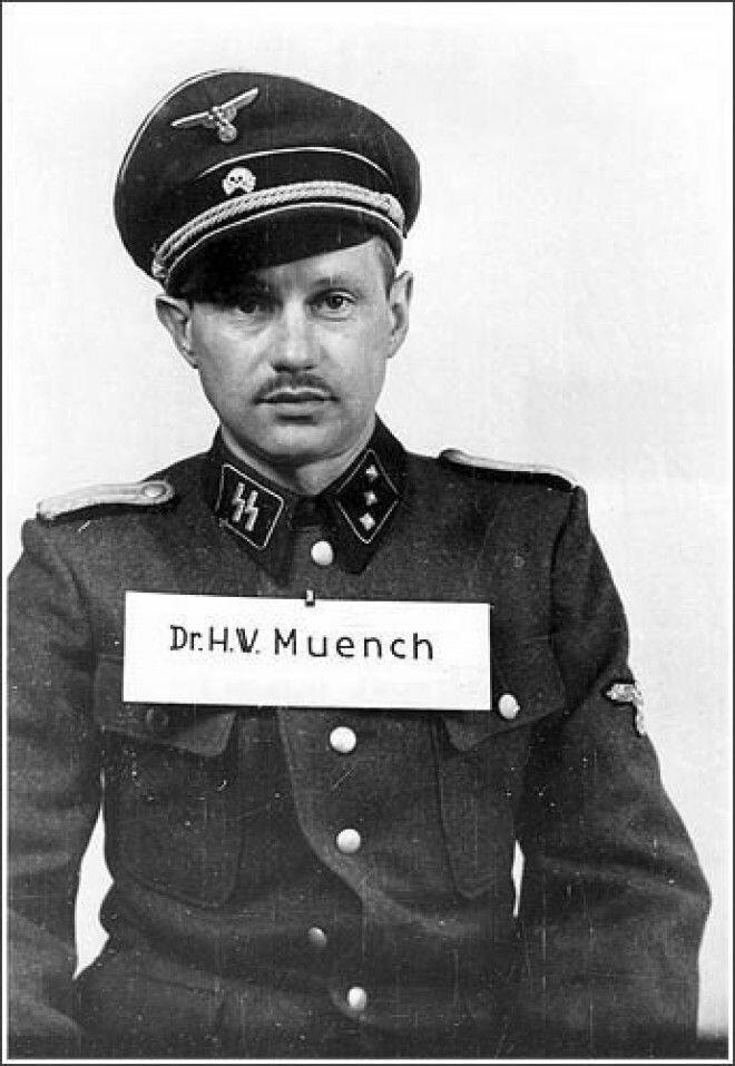 Ганс Мюнх - врач концлагеря Освенцим. #Фотографии, #история, #факты, .война