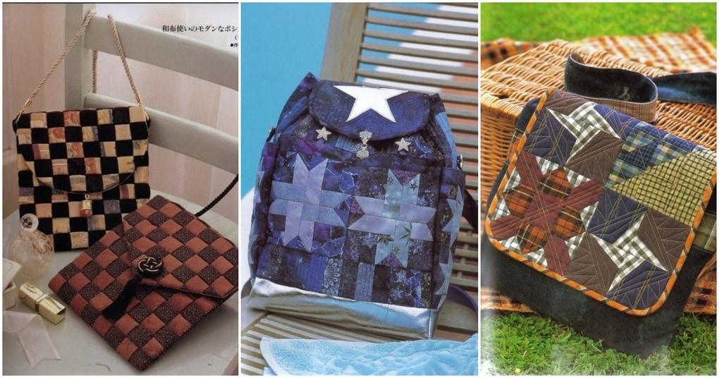 Лоскутные сумки: пэчворк для любительниц неординарных аксессуаров