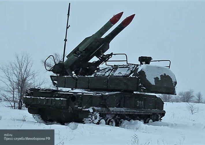 В Бурятии зенитчики ВВО успешно отразили атаку «диверсантов» на ЗРК «Бук-М2»